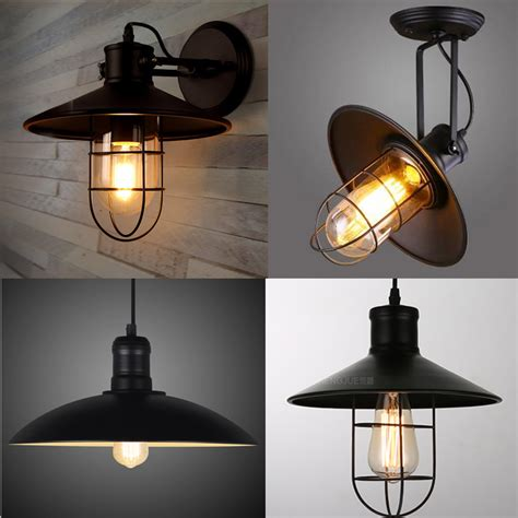 aliexpress buy e27 edison bulb black wall l loft