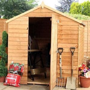 Garden Shed 8x6 Best Price by New 8x6 Wooden Garden Shed 8ft X 6ft Apex Wood Sheds