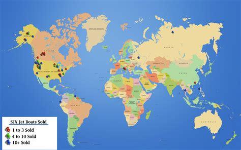 Boat World by Sjx Jet Boat World Locations Map Sjx Jet Boats