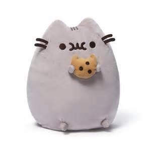 pusheen the cat plush pusheen the cat with cookie plush gund pusheen plush