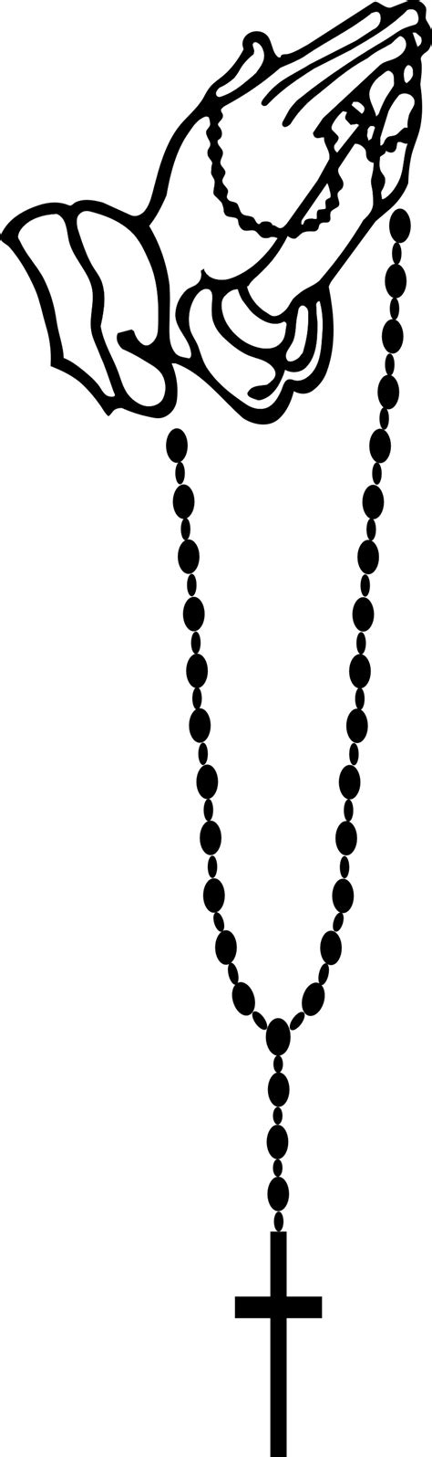 Rosary Clipart Praying Rosary Clipart Clipground