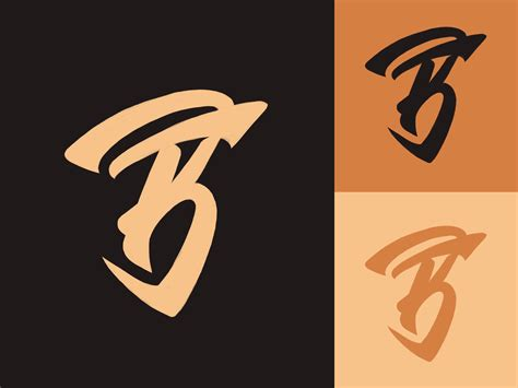 bf monogram logo sketch  personal training fitness company  yevdokimov  dribbble
