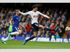Chelsea 13 Tottenham Dele Alli double ends 28year wait