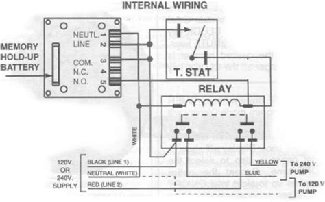 Pool Wire Diagram 3 by Intermatic Time Switch 240volts With Clock Mechanism And