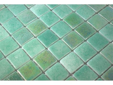 mikonos iridescent glass mosaic