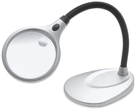 carson magnifier desk l ultraoptix desktop led magnifier blick art materials
