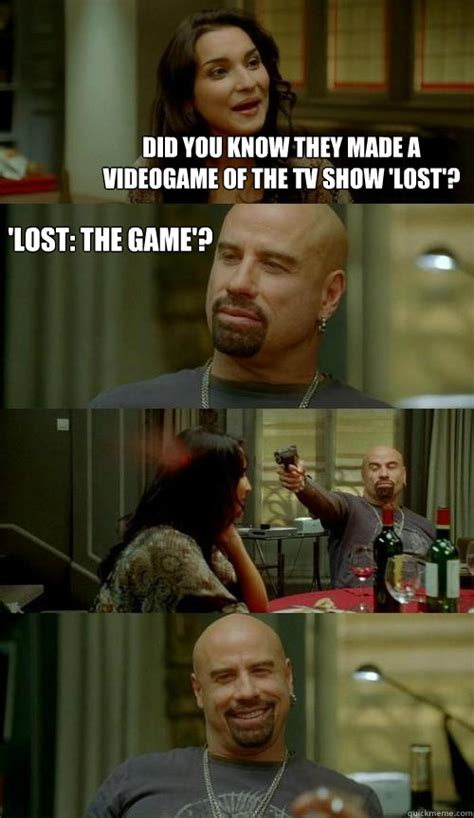 Lost Memes Tv - did you know they made a videogame of the tv show lost lost the game skinhead john