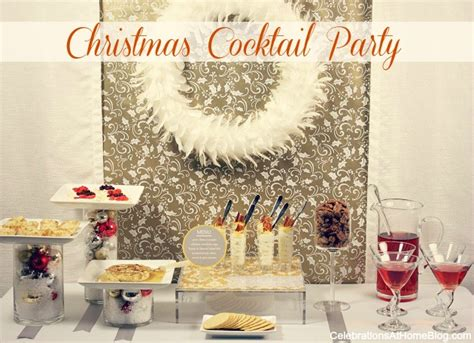 ideas for christmas parties at home cocktail ideas celebrations at home