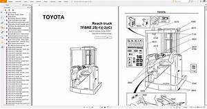Toyota Forklift Truck Pdf 7 1gb Dvd En Service  U0026 Part