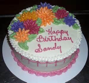 Happy Birthday Sandy Cake
