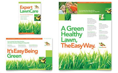 Lawn Mowing Flyer Template Free Costumepartyrun