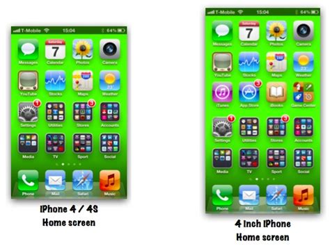 iphone 4 height apple could achieve a 4 inch iphone display by increasing 10859