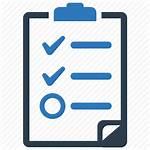 Icon Procedure Report Checklist Audit Test Standard