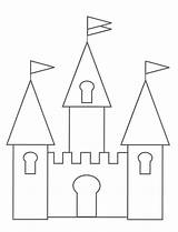 Castle Coloring Pages Printable sketch template