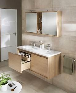 Salle De Bain En Bois : le bois dans la salle de bains inspiration bain ~ Teatrodelosmanantiales.com Idées de Décoration