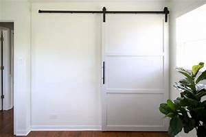 how to build and install a sliding barn door home With 60 inch wide barn door