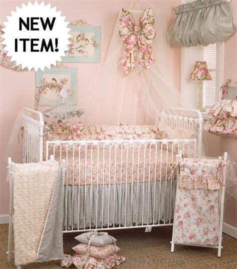 shabby chic crib bedding sets shabby chic tea party baby crib bedding 4 peice set