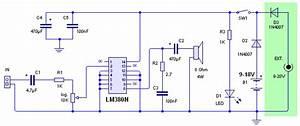 Esquema Mini Amplificador Para Parlantes 2 De 4 U03a9 3w Con