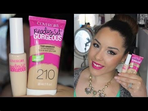 Covergirl Ready Set Gorgeous Foundation & Concealer