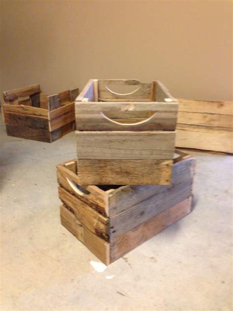 pallet box wood pallet furniture pallet diy pallet boxes