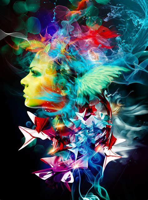 surreal colorful world  artist marco escobedo
