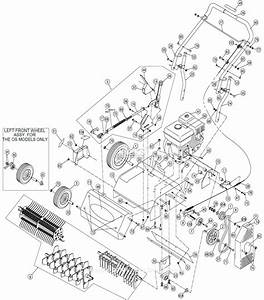 Billy Goat Pr550 Parts Diagram For Main Assembly