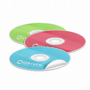 sticker cd impression etiquette cd personnalisee rapid With cd disc stickers