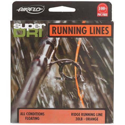 Airflo Super Dri Ridge Running Line Shooting Tapers Ebay