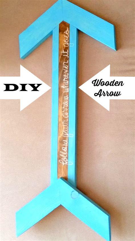diy wooden arrow    decor wall decoration