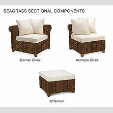 Bauen Sie Ihr Eigenes  Seagrass Roll Arm Sectional