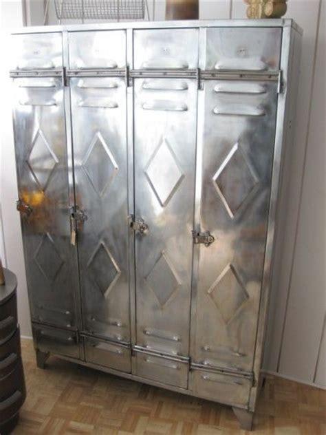 vintage steel locker cool for organizing a mud room