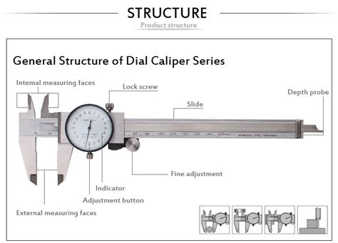Diagram Of A Digital Caliper by Ek 1408 Caliper With Metric Or Inch Type Buy