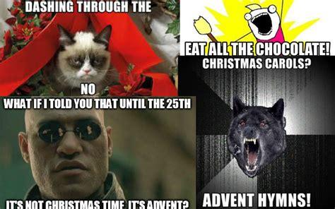 hilarious advent memes  start  liturgical year