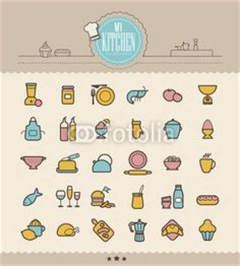 picto cuisine icons ustensiles ingredients de cuisine pictogramme