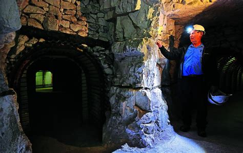Churchill's Dover tunnels give insight into wartime life ...
