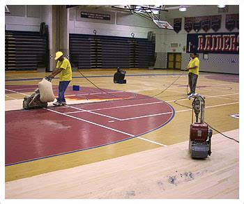 commercial hardwood floor refinishing and installation