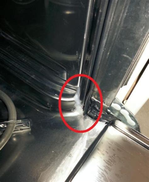 ge dishwasher leaking  left   bottom corners  door doityourselfcom community forums