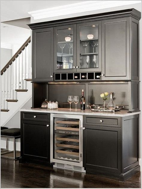Ideas For Bar Cabinets by Design Refrigerator Design On Dining Bar Cabinet Design