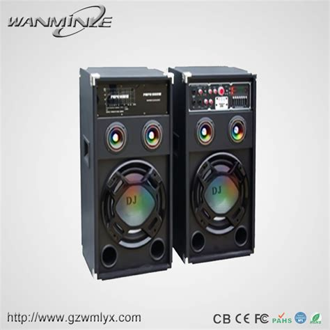 sale cheap price wooden speaker system single 10inch woofer big powered stage using