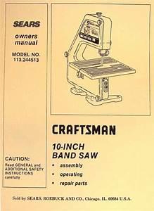 Craftsman 113 244513 10