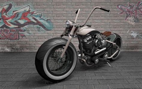 Bobber Motorcycle Wallpaper