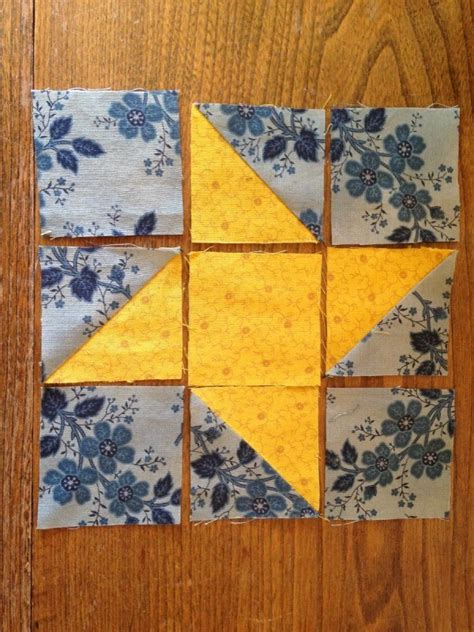 making  friendship star quilt block thriftyfun