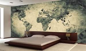Ancient, Old World Map Wall Mural Photo Wallpaper GIANT ...