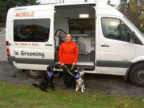 Mobile Groomers by Aussie Pet Mobile Grooming Pet Groomers Bc