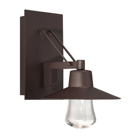 modern forms exterior lighting modern forms suspense bronze led outdoor wall light ws