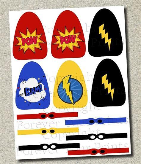 Lollipop Cape Template by Lollipop Masked Favors 8 Designs