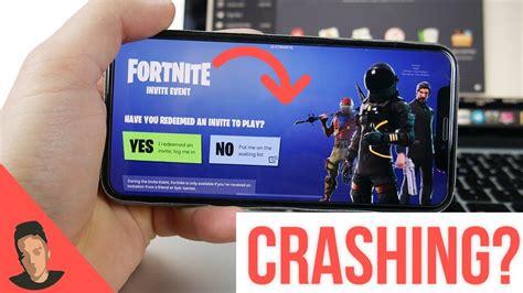 fortnite ios crashing explained iphone