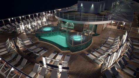 msc seaside msc yacht club sundeck  pool youtube