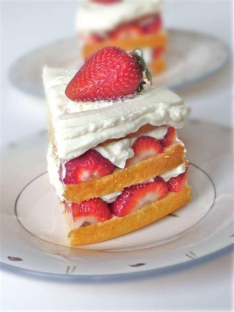 strawberry  cream cake hungry rabbit