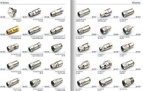 Rf Connector N Male Crimp Type Connector For Cable Rg58